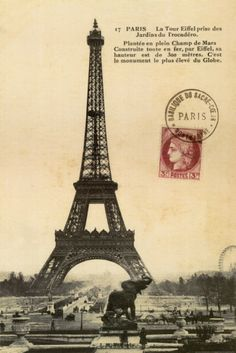 #vintage paris postcard 1900     -   http://vacationtravelogue.com  Guaranteed Best price and availability  on Hotels