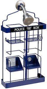 Doctor Who TARDIS Shower Rack.