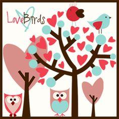 Love Bird Brush Pack Image - free photoshop brushes