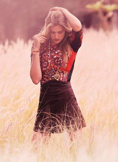 stormtrooperfashion:  Ophelie Rupp in Sweet Hippie Hype...
