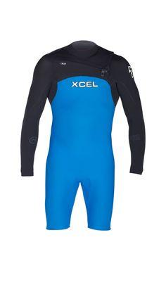1d0b61c33a Xcel Wetsuits - Men s Infiniti Comp L S Springsuit 2mm SP15