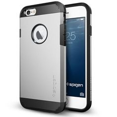 Apple iPhone 6 - BRG Spigen Tough Armor Style PolyCarbonate Matte Metallic Case #BRGSpigenToughArmorStyle