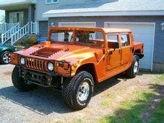 Convertir un vieux pick-up en Hummer - Hummer H1, Hummer Truck, Hummer Cars, Pick Up Ford, Peugeot 406, Lifted Cars, Cacciatore, American Motors, Car Magazine