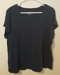 Women's Dressbarn Short Sleeve Burnout Tee Plus Size 2X #438 in Clothing, Shoes & Accessories, Women's Clothing, Tops & Blouses | eBay