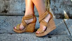 Wedges...Ashamed of the number I have purchased for this summer...but will wear them proudly! haha