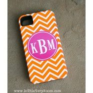 FABULOUS! Chevron Stripes Custom Cover - Fits iPhone 5!