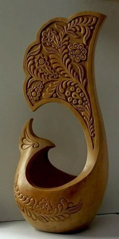 #Woodcarving - by Mi  #Woodcarving - by Mike Kloos  . Visit bestwoodworking.click