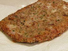 Italian style breaded cutlets