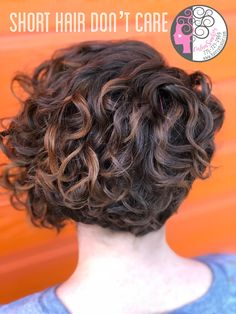 Naturally Wavy Curly  This was my signature curly Cut and color Revamp. What you see as frizz I see as a wave or curl waiting to be discovered. Let me help you through your hair journey ❤️❤️❤️Carleen Sanchez Nevada's Curly Hair and Color Expert 775.721.2969