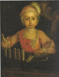 Infante Philip, Duke of Calabria/Philip of Naples and Sicily (1747-1777) Son of Charles III of Spain and Maria Amalia of Saxony. Godparents were King Ferdinand VI of Spain and Barbara of Portugal.