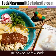 Good books, good friends, and good food. For many, that's the recipe for a happy life. Find out how THE LIGHTNING QUEEN inspired this Cooked from a Book entry!  #JNBlog #CookedFromABook #recipe #YA