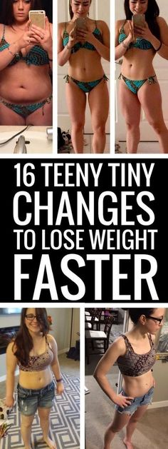 16 ways to easily lose weight without dieting.