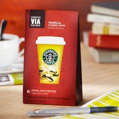 Starbucks VIA® Vanilla Flavored Coffee