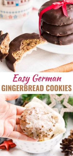 This traditional Lebkuchen recipe is easy to make from scratch and loaded with nuts, candied fruit, and flavorful spices. Elisen Lebkuchen (German Gingerbread) are one of the most famous German Christmas cookies with their moist and soft interior and make German Christmas Traditions, German Christmas Cookies, German Cookies, Holiday Cookies, Christmas Desserts, German Christmas Decorations, Traditional Christmas Cookies, Holiday Decor, Crack Crackers
