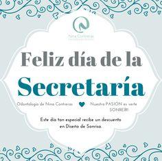 Feliz día de la secretaria! En este día tan especial recibe un descuento en Diseño de Sonrisa. (Valido hasta el 30 de Abril). Agenda tu cita ya: 6571629 - WhatsApp: 3008934528 http://ninacontrerascmf.com/location/