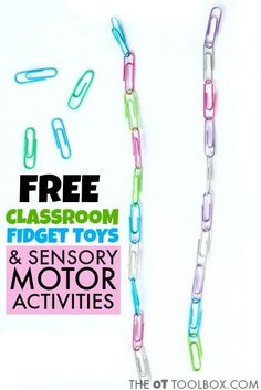 Teachers, parents, and therapists can use these free classroom sensory motor ideas to help kids learn and pay attention Teachers, parents, and therapists can use these free classroom sensory motor ideas to help kids learn and pay attention Occupational Therapy Activities, Motor Activities, Sensory Activities, Classroom Activities, Classroom Helpers, Sensory Tools, Speech Therapy, Classroom Ideas, Sensory Motor
