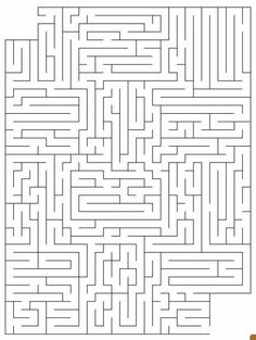 (Open:Tabby) The school is like a maze to me. It's big and scary and twisty. I walk through the halls, scared and lost. Perry was in class so I was alone. You walk up behind me. Maze Worksheet, Worksheets, Printable Mazes, Printables, Hard Mazes, Mazes For Kids, Maze Puzzles, Vision Therapy, Hidden Pictures