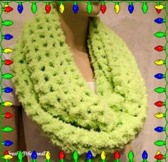 Hey, I found this really awesome Etsy listing at https://www.etsy.com/listing/541457758/green-crochet-infinity-scarfoversized