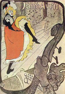 Advertising Times: Henri de Toulouse Lautrec - Jane Avril