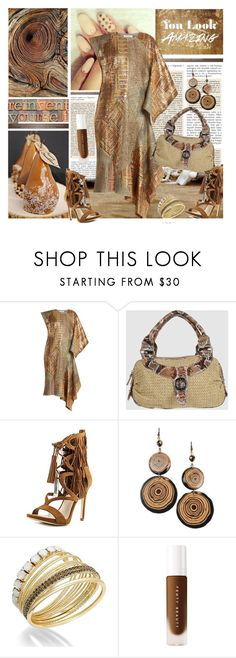 """All Shades of Brown"" by lavendergal ❤ liked on Polyvore featuring J.W. Anderson, CAPOVERSO, GUESS, Jozica and INC International Concepts"