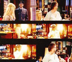 I pretty much had the same reaction to seeing Gary (Tom Ellis) in uniform. Phwoaaaaar!