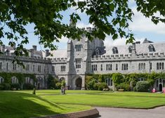 CORK, IRELAND - JUNE University College Cork (UCC) quad with students present on June 2013 in Cork, Ireland. The university was founded in by Peter O'Toole, via ShutterStock University College Cork, College Campus, County Cork Ireland, Galway Ireland, Ireland Vacation, Ireland Travel, Ireland Culture, Cork City, Ireland Landscape