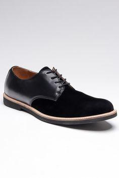 Black Derby shoe