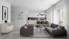 Kleine Wohnung einrichten -30qm-raumgestaltung-einzimmerwohnung ...