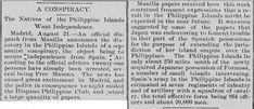 Pictorial history of the Philippine-American War Colonial, Emilio Aguinaldo, Fort Santiago, Jose Rizal, Intramuros, Filipino Culture, Bataan, American War, The Republic