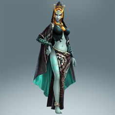 "Twili Midna (true form) joins the cast of playable characters through #HyruleWarriors ""Twilight Princess"" DLC pack - Available Nov. 27th on #WiiU"