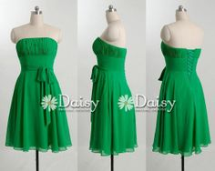 Hey, I found this really awesome Etsy listing at https://www.etsy.com/listing/126978590/stunning-a-line-green-bridesmaids