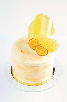 Meggyes-mákkrémes torta recept - vízfesték hatású torta készítése Mousse Cake, Cake Designs, Food And Drink, Candy, Poppy, Sweets, Candy Bars, Poppies, Chocolates