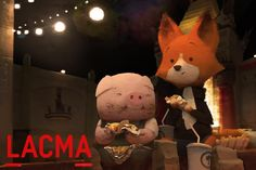 Will you be in LA on December 14th? Pig and Fox will be! Join them for a screening of THE DAM KEEPER as part of the Los Angeles International Children's Film Festival at the Los Angeles County Museum of Art!   Check out their website for more details about the event, tickets, and to see the other GREAT films in the program. http://www.lacma.org/event/shorts-ages-8–14  Original painting by the endlessly talented (and funny) Cody Gramstad. http://ctg-art-works.blogspot.com/