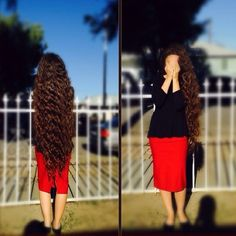 I want this to be my hair