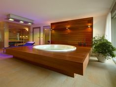 Fresh Basement Hot Tub