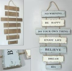 20 Brilliant DIY Pallet Furniture Design Ideas to Inspire You - diy pallet creations Pallet Barn, Pallet Signs, Wood Signs, The Woodhouse, Ibiza, Palette Deco, Do Your Own Thing, Creation Crafts, Pallet Creations