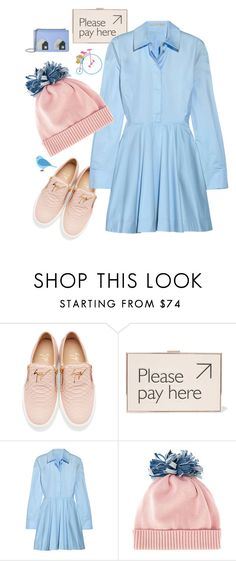 """""""Untitled #1620"""" by sunnydays4everkh ❤ liked on Polyvore featuring Giuseppe Zanotti, Anya Hindmarch, STELLA McCARTNEY, Federica Moretti and Les Petits Joueurs"""