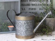 Vintage Home Watering Can