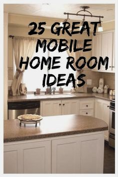 These 25 great mobile home room ideas will give you plenty of ideas for your own. These 25 great mobile home room ideas will give you plenty of ideas for your own home decor or remodel! A style for every taste. Get your inspiration now! Small Mobile Homes, Mobile Home Redo, Mobile Home Repair, Mobile Home Makeovers, Single Wide Mobile Homes, Mobile Home Living, Mobile Home Decorating, Decorating Tips, Kitchen Makeovers