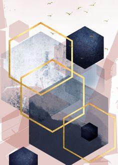 Gold Wallpaper, Wallpaper Backgrounds, Geometric Wallpaper Iphone, Wallpapers, Canvas Wall Art, Canvas Prints, Art Prints, Bild Gold, Abstract Landscape