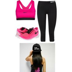Untitled #42 by lydiaubblegum on Polyvore featuring polyvore, fashion, style and NIKE