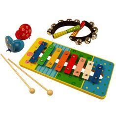 Bigjigs toys, Zestaw instrumentów muzycznych.