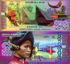 50 Sumatra  UNC Banknote