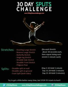 33 best splits images  how to do splits workout dance