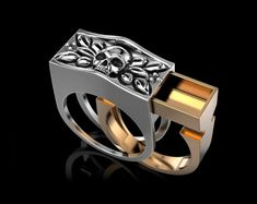 printable model Secret Compartment ring secret, formats include STL, ready for animation and other projects