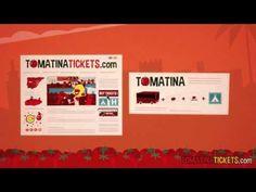 TomatinaTickets.com - La Tomatina de Buñol Valencia Spain - Audio Spanish - YouTube