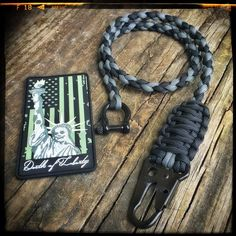 "Wallet Chain ""custom item 6"" knottydans.com #paracord #whatsonyourwrist we accept visa/master card just click on pay with PayPal and choose pay with credit card no pay pal required #tactical #edc #manshit #watchband #watch #dtom #molonlabe"