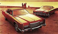 1973 Lincoln Continental Town Car and Town Coupe