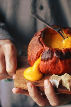 Pumpkin Fondue| London Fridge