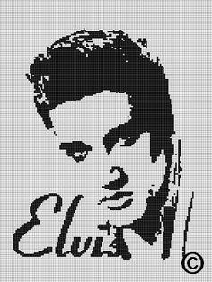 CROCHET PATTERNS ELVIS 2 AFGHAN GRAPH E-MAILED.PDF - Crafts Crocheting